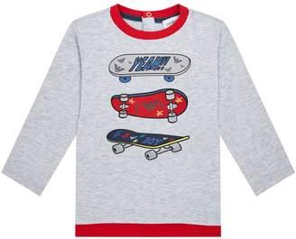 Emporio Armani Skatebaord Logo T-Shirt