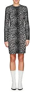 Givenchy Women's Leopard-Pattern Jacquard-Knit Minidress-Black