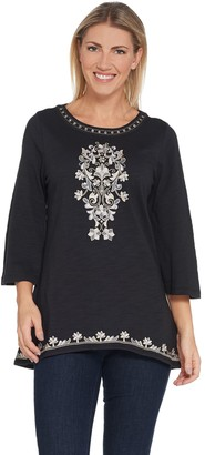 Belle By Kim Gravel Belle by Kim Gravel Moroccan Embellished Top