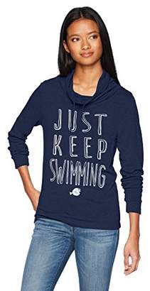 Disney Junior's Just Keep Swimming Dory Graphic Cowl Neck Sweater