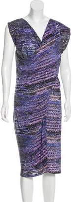 See by Chloe Linen Printed Dress