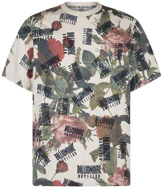 Billionaire Boys Club Floral Printed T-Shirt