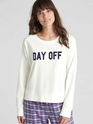 Gap Graphic Pullover Sweatshirt