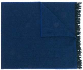 Kiton fringed cashmere scarf