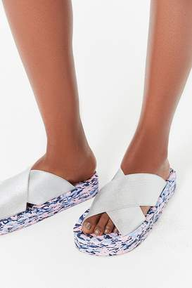 Urban Outfitters Confetti Platform Slide