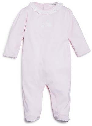 Kissy Kissy Girls' Cottontail Appliquéd Footie - Baby $42 thestylecure.com