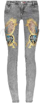 Philipp Plein Denim pants - Item 42720934XR