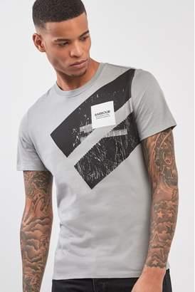 Next Mens Barbour International Gauge T-Shirt