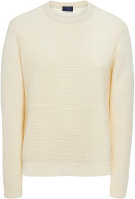 EIDOS Waffle-Knit Cashmere Sweater
