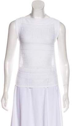 Antonio Berardi Sleeveless Knit Top