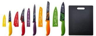 Farberware 11 Piece Resin Chalkboard Cutlery And Cutting Board Set