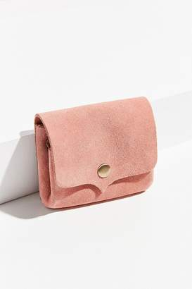 Urban Outfitters Suede Snap Belt Pouch