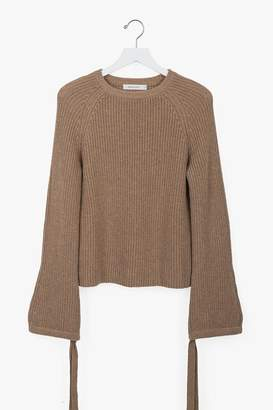 Genuine People Wool Cashmere Crewneck Sweater