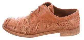 Henry Beguelin Leather Pizzo Oxfords