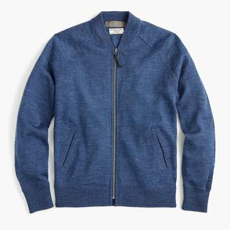 J.Crew Wallace u0026amp; Barnes full-zip sweater in Italian wool