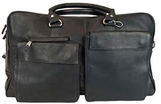 Latico Leathers Basics Two Pocket Duffel