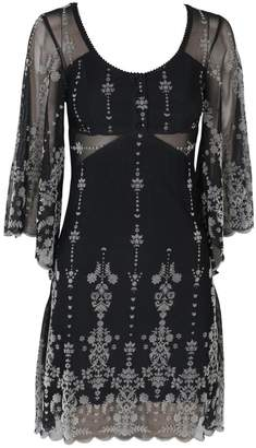 Somedays Lovin Velvet Detail Dress
