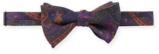 Edward Armah Men's Nirvana Floral-Print Silk Bow Tie