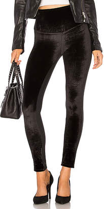 Yummie by Heather Thomson Velvet Front Panel Legging