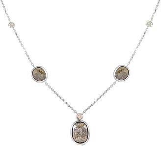 Sabrina Designs 14K 6.66 Ct. Tw. Diamond Necklace