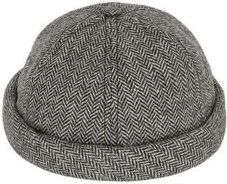 Handmade Wool Herringbone Sailor Hat