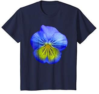 Blue Pansy Flower Pansies T-Shirt Spring Flowers Tee Shirt