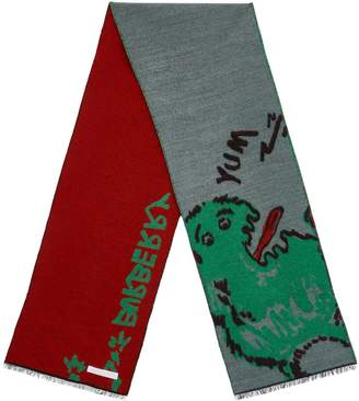Burberry Monster Graphic Scarf