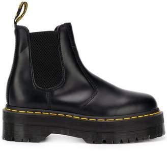 Dr. Martens platform sole Chelsea boots