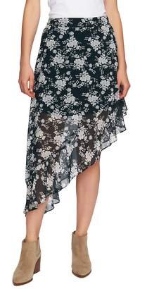 1 STATE 1.STATE Forest Asymmetrical High/Low Skirt