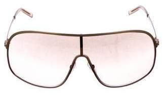 Gucci Shield Tinted Sunglasses