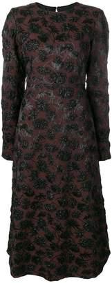 Rochas floral pattern dress