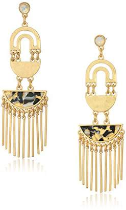 Danielle Nicole Balancing Act Womens Aligned Drop Earrings
