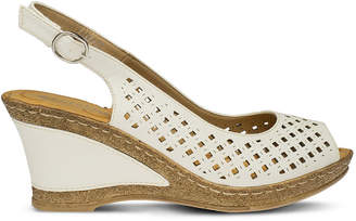 Patrizia Candace Womens Wedge Sandals