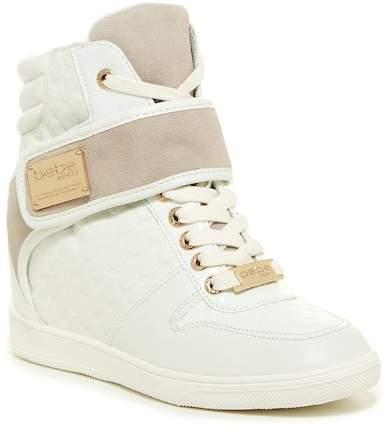 bebe Colby Wedge Sneaker