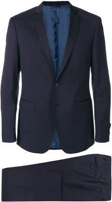 Tonello micro print single breasted suit
