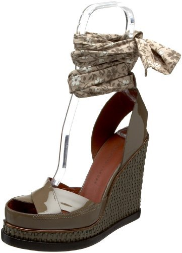 Marc by Marc Jacobs Women's Greese Ankle Strap Open-Toe Wedge Sandal