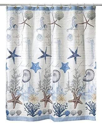 """Avanti Linens Antigua72"""" x 72"""" Shower Curtain Multi-Colored"""