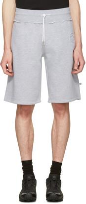 Telfar Grey 'Customer' Lounge Shorts $180 thestylecure.com