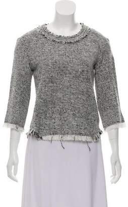 IRO Bardy Bouclé Knit Sweater