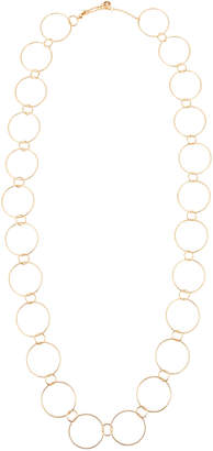 Lydell NYC Long Single-Strand Circle-Link Necklace