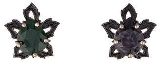 Lanvin Boucles D'Orfille Mis-matched Clip-On Earrings