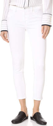 DL1961 Florence Cropped Skinny Jeans $178 thestylecure.com