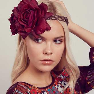 Arabella ROCK 'N ROSE Floral Crown Fascinator Headband