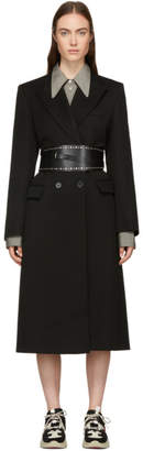 Isabel Marant Black Wool Joleen Coat