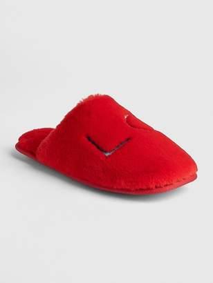 Gap Faux-Fur Slippers