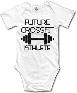 ADAB Infant Future CrossFit Athlete Cute Baby Onesie Bodysuit