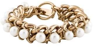 Jason Wu Faux Pearl Chain Bracelet