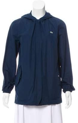 Lacoste Hooded Lightweight Jacket