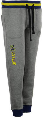 Nuyu Women's Michigan Wolverines Drop Waist Jogger
