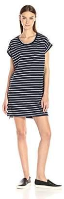 Sundry Women's Roll Sleeve Dress